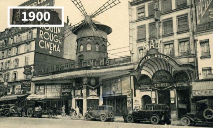 Moulin Rouge, Paris, França, 1900
