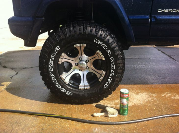Make tires look great