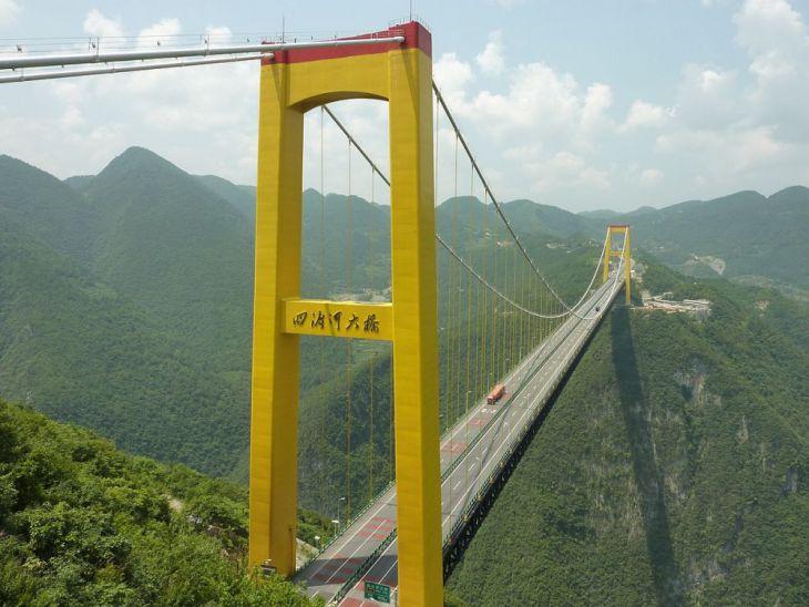 Puente del Río Sidu (China)