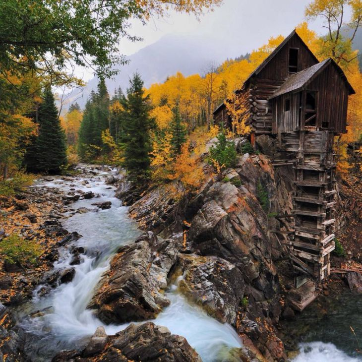 Crystal Mill no Colorado, EUA