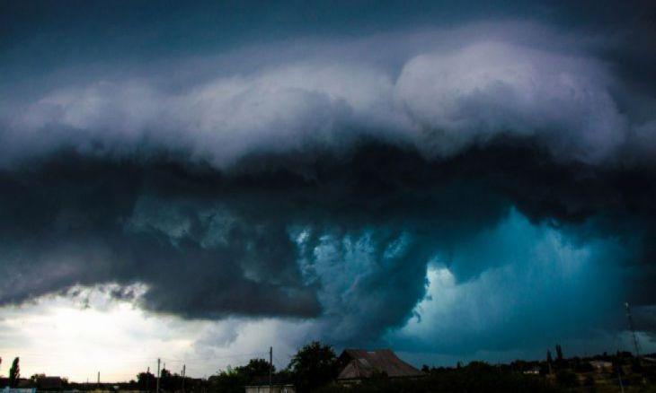 Uma tempestade deslumbrante