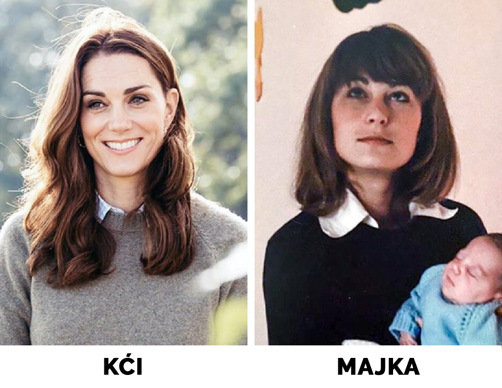 Majka Kate Middleton