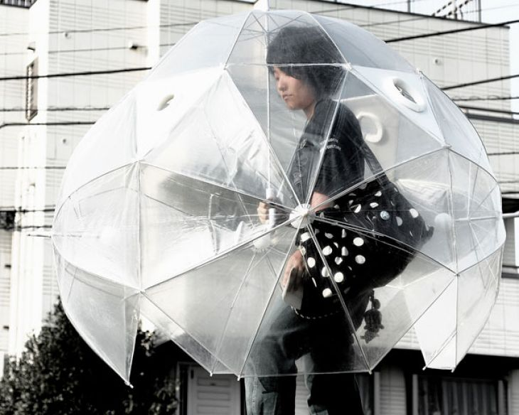 Entire cover umbrella