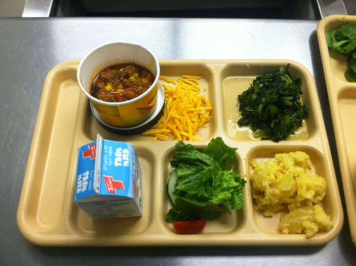 School lunch in the USA