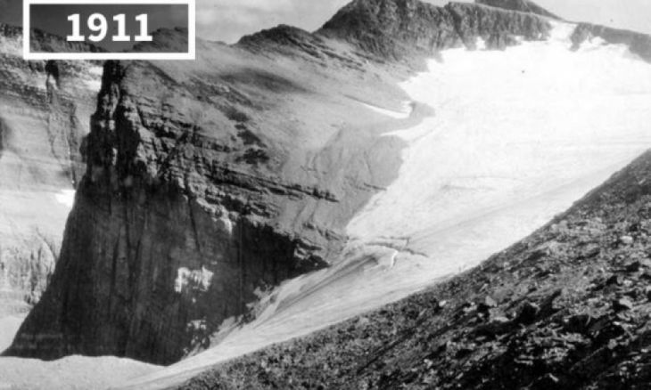 Chaney Glacier, USA, 1911