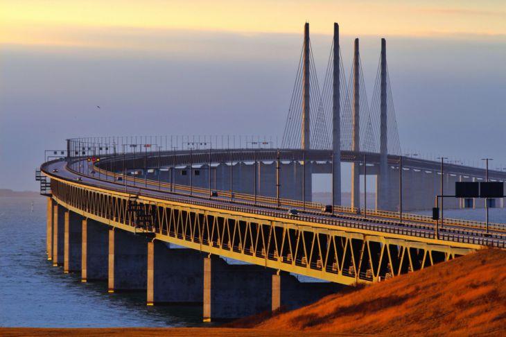 Puente Øresund (Dinamarca y Suecia)