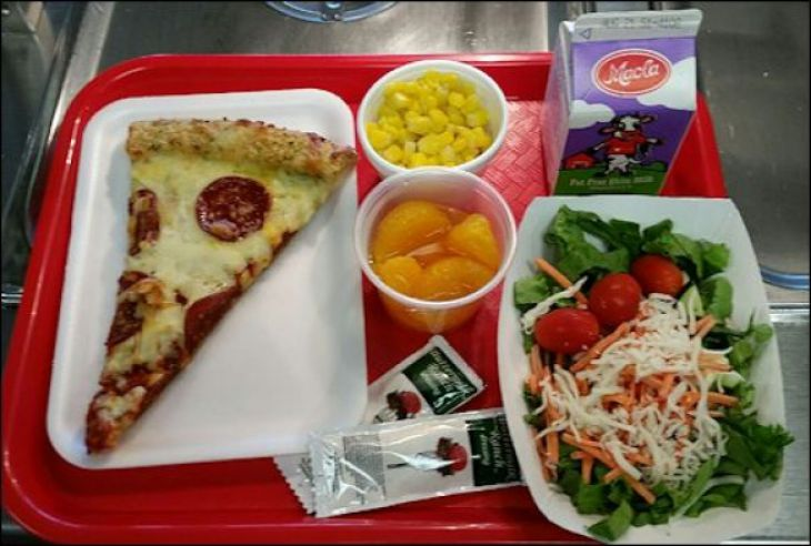 Wat kinderen rond de wereld eten voor lunch op school