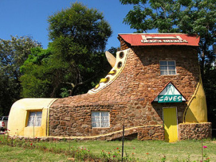 The Shoe House, África do Sul
