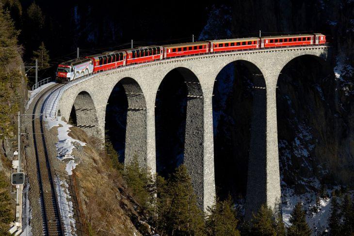 Viaducto de Landwasser (Suiza)