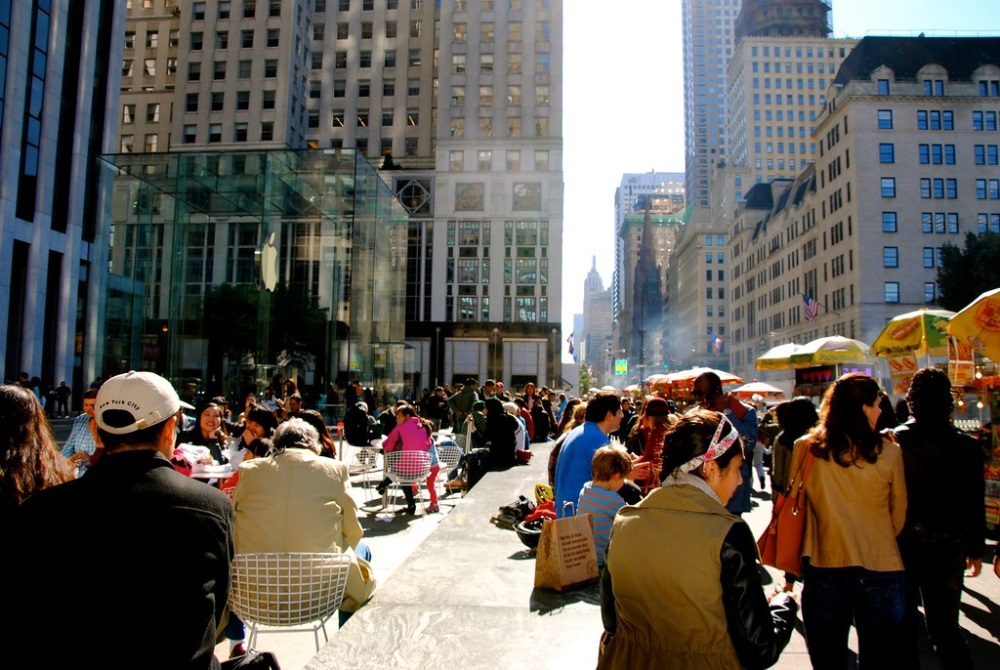 La Fifth Avenue nel cuore di Manhattan