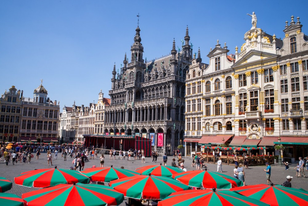Grand Place en Bruselas, Bélgica
