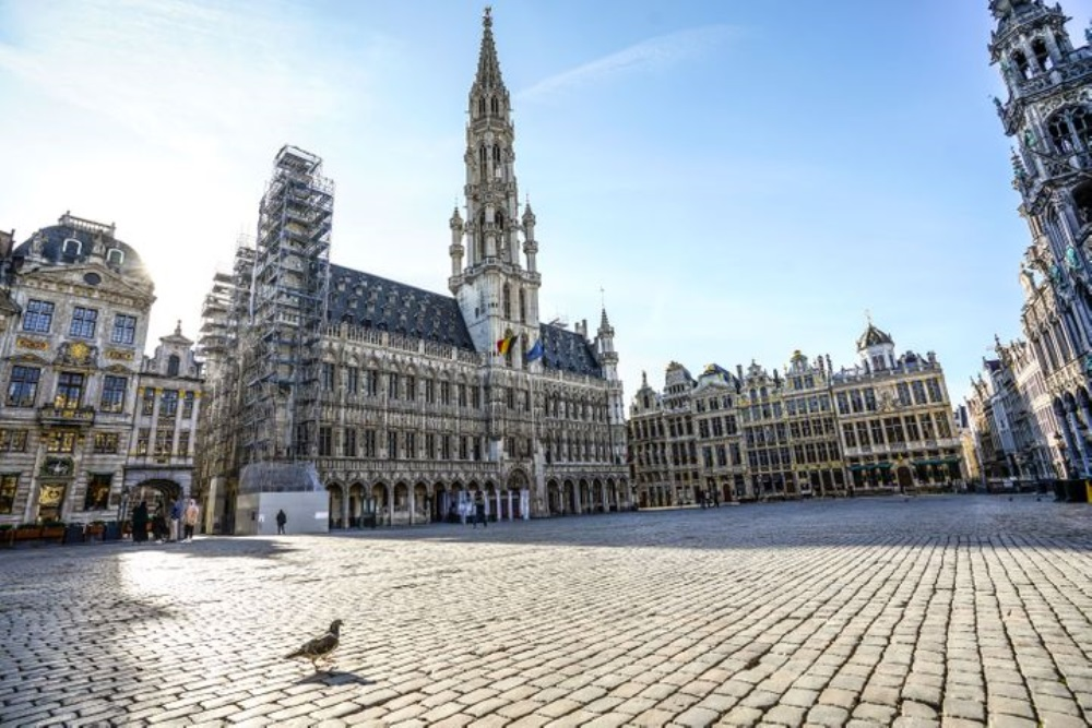 Grand Place en Bruselas