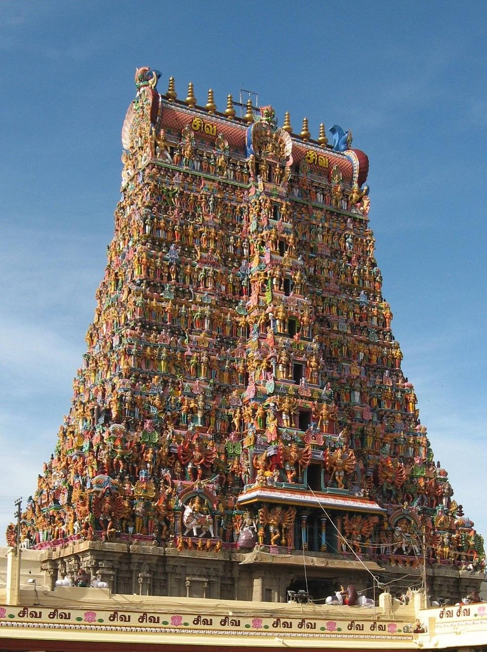 Templo Meenakshi De Madurai  India