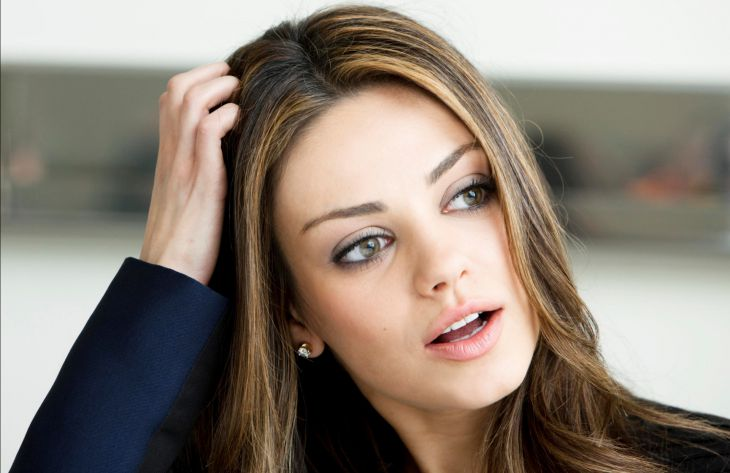 Beautiful Kunis eyes