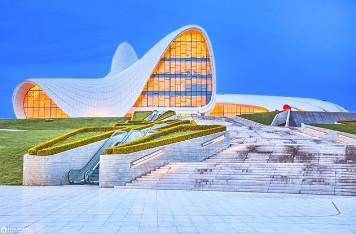 Heydar Aliyev Center in Baku