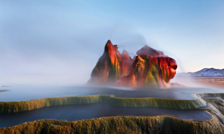 Fly Ranch Geyser, Nevada