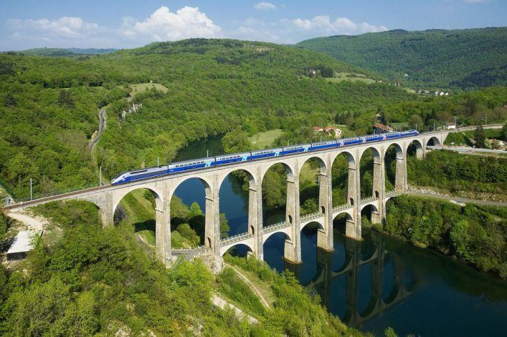 Viaducto Cize-Bolozon (Francia)