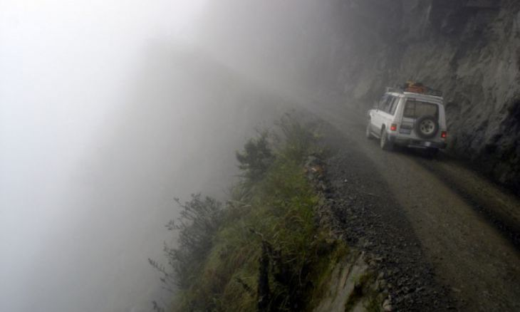 Yungas Road, Bolivien