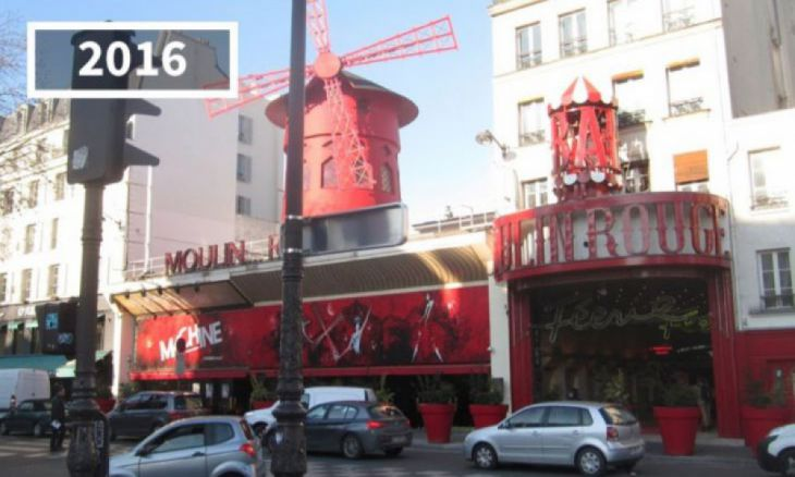 Moulin Rouge, Paris, França, 2016