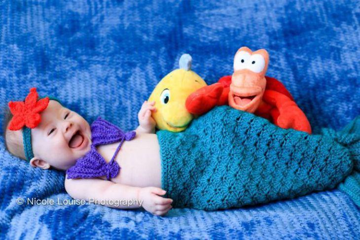 Crianças com Síndrome de Down representam personagens da Disney para uma bela campanha de conscientização (20 fotos)